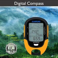 Mini Digital GPS Navigation Tracker  Receiver Compass Locator For Camping Hiking