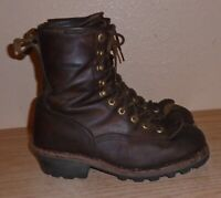 CHIPPEWA Sport Utility Men's Leather Boots chip-a-tex size 8