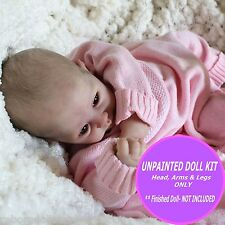 Beautiful Juliet Reborn Doll unpainted Kit ~ make your own reborn baby doll,  oh
