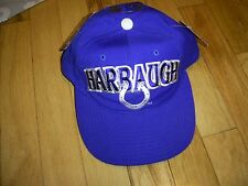 JIM HARBAUGH VINTAGE SNAPBACK STARTER HAT CAP COLTS #4 NWT MICHIGAN WOLVERINES