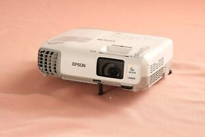 Tested Epson PowerLite X17 H569A 3LCD XGA Projector 2700 Lumens 3239 Lamp Hours