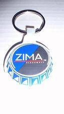 ZIMA CLEARMALT LIQUOR ADVERTISING  BOTTLE CAP KEYCHAIN BRAND NEW