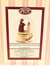 San Francisco Music Box Company Phantom Opera Christine Masquerade Water Globe