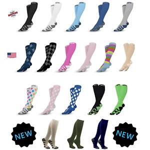 Go2 Compression Socks 20-30 mmHG Graduated Mens or Womens S-XL High Compression