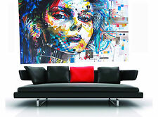 200cm x 120 cm urban princess GRAFFITI  CANVAS  PAINTING  MODERN STREET ART