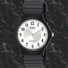 Casio MQ-24-7B3 Men's Analog Watch White Circle Resin Band NEW Free Shipping