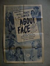 About Face William Tracy Joe Sawyer Jean Porter #35360 movie poster 27X41