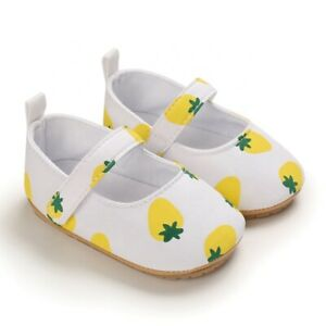 Novelty Baby Infant Girl Prewalker Crib Casual Dress Shoes Size 0-18 Months