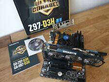 Intel i5 on gigabyte GA-Z97-D3H 2x4gig ddr3 corsair vengeance gtx580 super OC