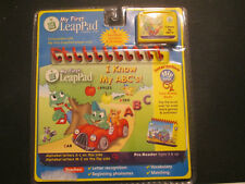 """Leap Frog My First LeapPad """"I Know My ABC's!"""" Interactive Flip Book & Cartridge"""