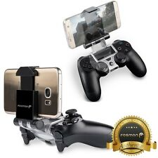 Fosmon PS4 Controller Smartphone Smart Clip Holder w/ 6in Micro USB OTG Cable