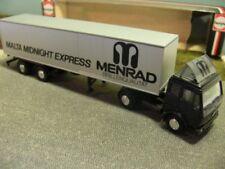 1/87 Herpa MB S 80 Malta Midnight Express Menrad Koffer-SZ