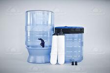"""Presupuesto Berkey Light (9"""" elementos de la Tierra) sistema de filtración de filtro de agua ~ sede en Reino Unido"""