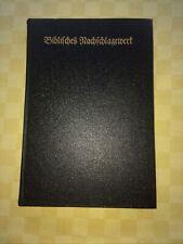 Biblisches Nachschlagewerk - zur Jubiläumsbibel - Württembergische Bibelanstalt