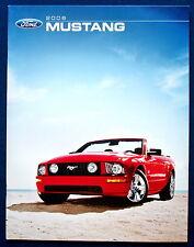 Prospekt brochure 2006 Ford Mustang   (USA)
