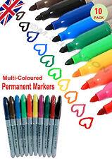 2x10 Pack Permanent MARKER PENS Multi COLOURS FINE POINT TIP Sharpie Mix E009
