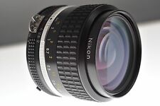 Nikon Nikkor 35mm f/2 Ai-s fast wide lens. MINT+ condition. Photojournalist gem!