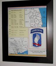 173rd Airborne Brigade, Vietnam, Framed