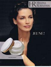 PUBLICITE ADVERTISING 074 1995 HELENA RUBINSTEIN créme hydratante