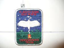 OA O Shot Caw Lodge 265 X-13a,Ceremonies Team,pp,WHT Bd,South Florida Council,FL