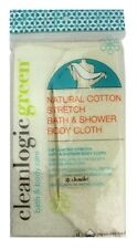CLEAN LOGIC NATURAL COTTON STRETCH BATH SHOWER CLOTH