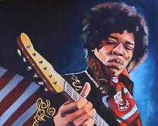 Jimi Hendrix Purple Haze GICLEE ON CANVAS Signed Numbered Grammy Awards Grammys