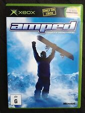 X BOX GAME ~ AMPED ~ FREESTYLE SNOWBOARDING ~ **FREE POST