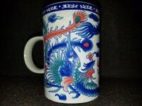 Asian Dragon Design - 12oz Coffee Mug