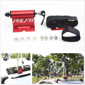 Universal Alloy Car Roof Bike Bicycle Mount Carrier Rack Quick-release Fork Lock
