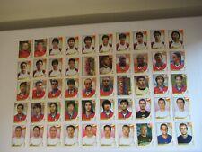 Panini:FIFA WORLD CUP KOREA/JAPAN 2002- 50 verschiedene ungeklebte Sammelbilder