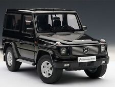 1990 Mercedes-Benz G Model Swb 2 Door Black 1:18 Autoart 76111 Brand New In Box
