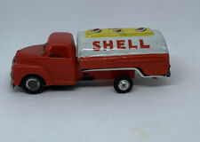Litho Friction Tin Truck SHELL GASOLINE FUEL TANKER