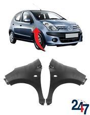 NEW FRONT WING FENDER COVER FOR NISSAN PIXO 2009 - 2015 PAIR SET LEFT + RIGHT