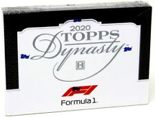 2020 TOPPS DYNASTY FORMULA 1 RACING HOBBY 5 BOX CASE BLOWOUT CARDS