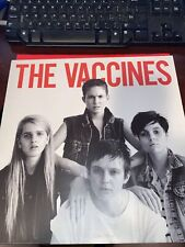 The Vaccines Vinyl Lp With Poster- Ex- To Vg+ Condition