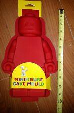 "New! Genuine Lego Silicone Minifigure Cake Mold #852708 / Cake & Jello 12"""