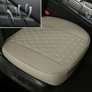 Car Front Seat Cover Mat PU Leather Deluxe Comfortable Auto Interior Accessories