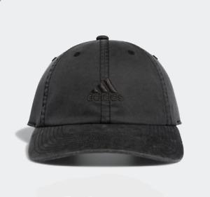 NEW! adidas Men's Estate Adjustable Cap-Dark Grey