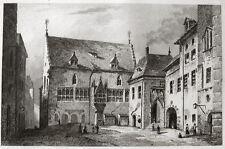 Regensburg il vecchio municipio 1838 Hotel de Ville de Ratisbonne Reich Saalbau