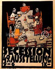 49th Secession Exhibition Schiele Art Poster  -24x36