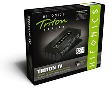 Hifonics Triton IV Monoblock 4 x 120w or 2 x 200w Compact 4 or 2 channel amp
