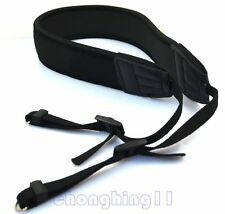 Camera black DSLR Neoprene Shoulder Neck Strap Belt For Canon EOS 1300D 5D 6D 1D