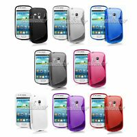 Soft Gel TPU Case Cover For Samsung Galaxy S III Mini, i8190 / S3 more, G730A