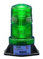 BS1AC 85-265VAC GREEN STROBE XENON EMERGENCY WARNING BEACON w/VOLTAGE STABILIZER