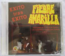 """FIEBRE AMARILLA """"EXITO TRAS EXITO"""" CD - BRAND NEW WITH CRACKED CASE"""
