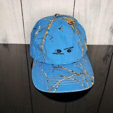 Mossy Oak Blue Camo Wood Ladies Womens Cap Adjustable Baseball Hat