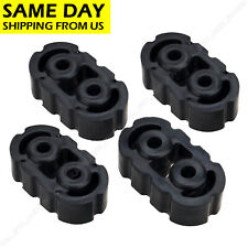 4* Polyurethane Rubber Exhaust Tail Pipe Mount Holder Bracket Hanger Insulator