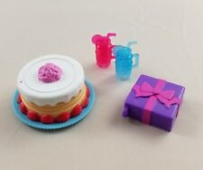 New Barbie Doll Club Chelsea Birthday Party Accessories Cake Gift Cups Toy
