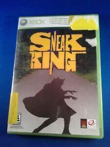 Sneak King (Microsoft Xbox 360, 2006) pre-owned