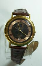 Scarce Vintage Men's PULSAR Quartz Domed Days of the Week Watch
